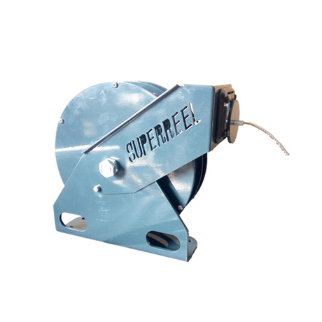 Retractable ground cable reel | Spring tool balancer ASSR300S
